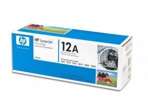 Вид картриджа Q2612a в коробке