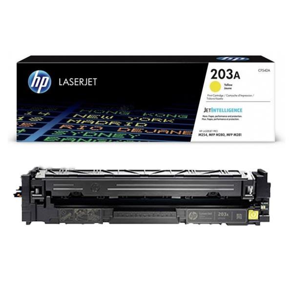 HP CF542A №203A
